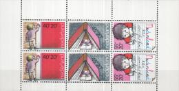 Nederland - Plaatfout 1171 PM1 Blok – Postfris/MNH - Mast 7e Editie 2013 - Plaatfouten En Curiosa