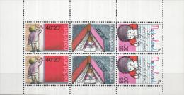Nederland - Plaatfout 1171 P1 Blok – Postfris/MNH - Mast 7e Editie 2013 - Plaatfouten En Curiosa