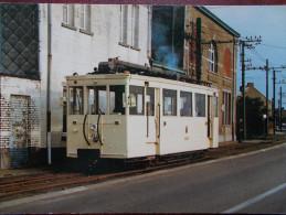 BELG - TRAZEGNIES - Autorail ART-89 Sur La Ligne 41 De La SNCV , Le 13 Octobre 1984. (Tramway) - Courcelles