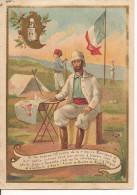 CHROMO ALCOOL DE MENTHE RICQLES  LA MISSION MARCHAND A FACHODA - Trade Cards