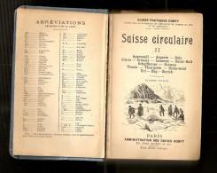 1906 -Guide Conty -Suisse Centrale -orientale Et Septentrionale -Engadine - Lacs Italien - Michelin (guides)