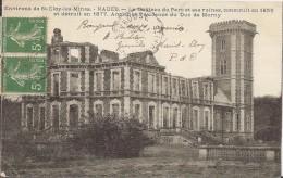 Environ De Saint Eloy Les Mines- Nades- Le Chateau Du Parc Et Ses Ruines Construit En 1855 Et Détruit En 1877 Ancienne - Sin Clasificación