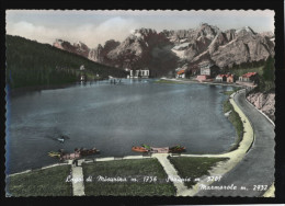 [005] Lago Di Misurina, Sorapis, Marmarole, 1955 - Italia