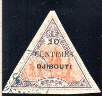 COTE DES SOMALIS : TP N° 32 ° - Used Stamps