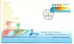 1999 Canada Single Skull 46c First Day Cover - First Day Covers