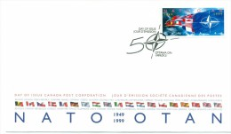 1999 Canada NATO 46c First Day Cover - First Day Covers
