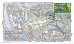 1999 Canada International Year Of Older Persons 46c First Day Cover - First Day Covers