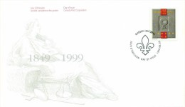 1999 Canada Barreau Du Quebec 46c First Day Cover - First Day Covers