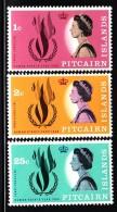 Pitcairn Islands MNH Scott #88-#91 Set Of 3 International Human Rights Year - Timbres