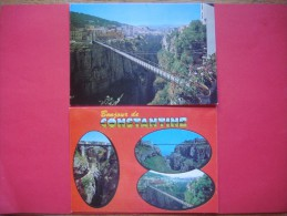 Afrique - Algérie - Algéria : Lot De 2 Cartes De CONSTANTINE ( Pont De L' Ascenseur ) - Constantine