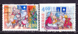 Norvegia 1999-Natale-Serie Completa Usata - Norwegen