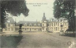 - Indre Et Loire - Ref A345 - Cerelles - Le Chateau De Baudry - Façade Sud - Carte Colorisee - - Altri Comuni