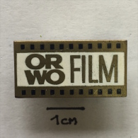 Badge / Pin ZN001337 - Film (Movie) ORWO - Kino