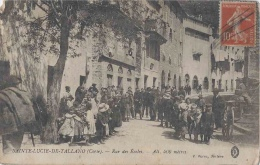 20-Corse-Sainte Lucie De Tallano-Rue Des Ecoles - Frankreich