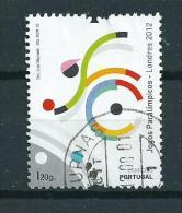 2012 Portugal Paralympics London,sport Used/gebruikt/oblitere - Oblitérés