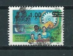1990 Sri Lanka Overprint Used/gebruikt/oblitere - Sri Lanka (Ceylon) (1948-...)