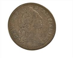 Louis XV - France - Jeton De La Chambre Du Trésor - 1754 - Cuivre - TB - Royal / Of Nobility