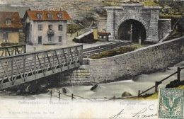 Gottardbahn (Switzerland-Suisse) - Der Grosse Tunnel - Ed. E. Goetz - Carte Précurseur - Ouvrages D'Art