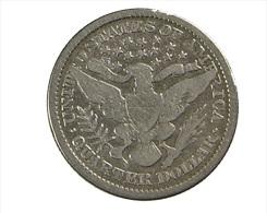 Quart De Dollar - Barber - USA - 1894 - TB - Argent - Federal Issues