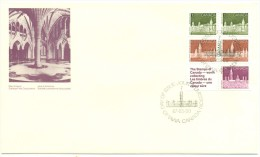 1987 Canada Stamp Booklet First Day Cover - Primi Giorni (FDC)