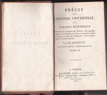 Précis De L'Histoire Universelle Ou Tableau Historique 1811 - Livres, BD, Revues