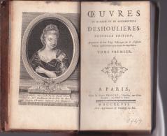 Oeuvres De Madame Et De Mademoiselle DESHOULIERES - 1701-1800