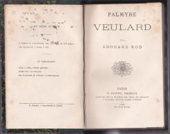 Palmyre Veulard Par Edouard Rod - Livres, BD, Revues