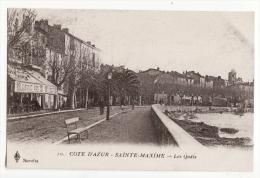 83  SAINTE MAXIME   Les Quais - Sainte-Maxime