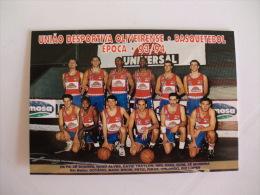 Basketball Basquetebol Cheese Fromage Queijo Universal Portugal Portuguese Pocket Calendar 1994 - Klein Formaat: 1991-00