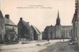 MARCILLE-LA-VILLE PLACE DE L'EGLISE 53 MAYENNE - France