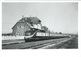Train Sourbrodt 1991 - Reproductions