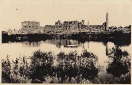 Photo Ancienne Egypte Le Nil Karnak Format CP - Lieux