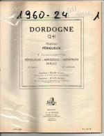 ANNUAIRE - 24 - Département Dordogne - Année 1960 - édition Didot-Bottin - Plan De Périgueux - Telefoonboeken