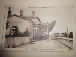 HAUTE LOIRE - BRIOUDE -  LA GARE - VUE INTERIEURE  Série La Haute Loire Pittoresque - - Brioude