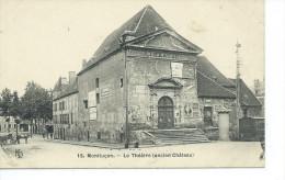 03-MONTLUCON-Une Vue Du Theatre Dans L'Ancien Chateau-Animé - Montlucon