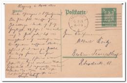 Postkarte, Stempel Liegnitz - Deutschland