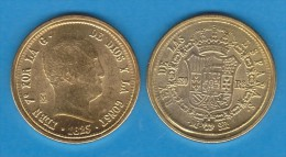 Rm-69 FERNANDO VII 320 REALES 1.823 Oro Madrid SC/UNC Réplica T-DL-10.857 - [ 1] …-1931 : Royaume