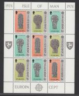 MAN MNH** MICHEL KB 122/27 EUROPA 1978 - Man (Ile De)