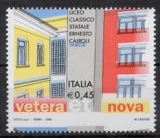 Italia Rep. 2006 - Liceo Cairoli Dentellatura Spostata MNH ** - Variedades Y Curiosidades
