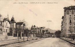 D64  SAINT- JEAN- DE- LUZ  La Côte Basque- Boulevard Thiers   ..... - Saint Jean De Luz