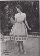 Photographie - Mode - Indiennes Valdrôme - Jupe Martigues - Format 17.3 X 12.3 Cm (Femme, Pin-up) - Pin-Ups