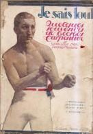 Je Sais Tout-georges Carpentier 1920-table Des Matieres Scannée - Livres