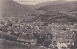 Feldpost WW1: Postcard Markirch I. Els. From Preuss. Brig. Ers. Batl. 83 Adressed To Landsturm Bataillon Dillingen W/o P - Militaria