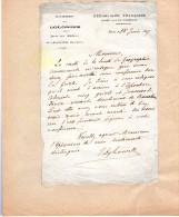 Autographe DYBOWSKI Explorateur Et Fondateur Du Jardin Colonial - Autographes