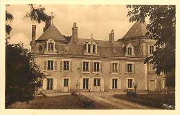 - Indre Et Loire - Ref A311 - Chemille Sur Deme - Chateau De Girardet - Carte Bon Etat - - Altri Comuni