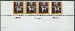 ÖSTERREICH / PM Nr. 8116026 / 4er Streifen Mit Nummer / Brigadier Prof. Kurt Albrecht / Postfrisch / MNH / ** - Personalisierte Briefmarken
