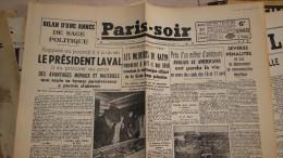 Paris Soir - 20/04/1943  -   -fac Simile N° 58 - Audio Books