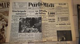 Paris Midi - 17/04/1943  -   -fac Simile N° 57 - Livres Parlés