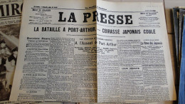 La Presse  - 04/08/1904  -   -fac Simile N° 22 - Livres Parlés