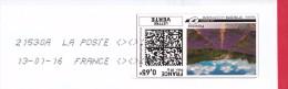 France - 2015 - MONTIMBRENLIGNE - 13/01/16 Enveloppe DL - Cartas